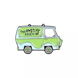 4/$20 Mystery Machine Scooby Doo Van Enamel Pin